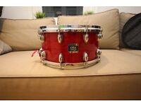 Yamaha Oak Custom Snare 14x6.5 (cherry red)