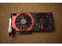 MSI r9 380 4G Gaming Graphic Card