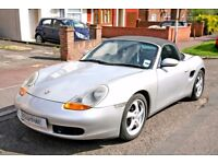 1998 PORSCHE BOXSTER 2.5 AUTOMATIC CONVERTIBLLE, WITH ONLY 77K MILES WITH FULL SERVICE HISTORY