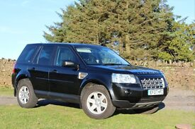 2007 Land Rover Freelander 2 GS 2.2 TD4 Black Manual VGC Landrover