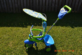 Smart Trike 3 in 1 Delight Ride On Tricycle Kids Toddler Bike