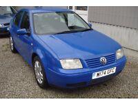 VW bora se115 TDI 2000-w-reg, 1.9 turbo diesel, 153,000 miles, new mot upon purchase