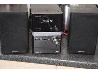 PANASONIC 70W DAB RADIO/USB/CD/IPOD DOCK CANBE SEEN WORKING