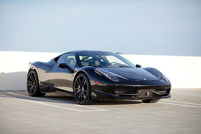 2011 Ferrari 458 Base Coupe 2-Door 2011 Ferrari 458 Italia Base Coupe 2-Door 4.5L