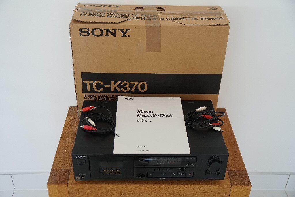 Sony TC-K370 Stereo Cassette Deck