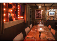 Experienced CDP's needed for award winning Pub & Dinning on the river Thames