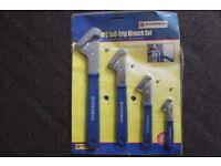 Marksman 4 Piece Self Grip Wrench Set