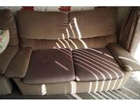 2 Seater Sofa - G Plan 2x2 Seats Green