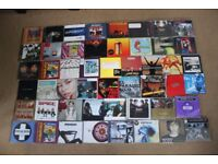 Joblot music collection, vinyl's and cd's
