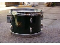 !!RARE!! 1980s GRETSCH 12x8 TOM GREEN LACQUER VGC (Collection LE27QT)