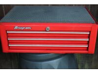 Snap on intermediate 3 draw mid section toolbox 26.5 inch x 20 deep