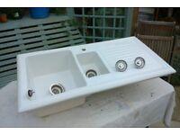 Reginox Kitchen Sink 1 1\2 Basin with Drainer