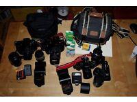 3x Canon Film Camera Kits