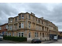 Two double bedrooms available to rent in four bedroom flat share located in the west end.