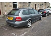 2004 Jaguar X Type Sport Estate with removable Witter Tow Bar