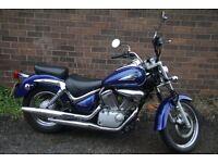 Suzuki Intruder VL125 Learner Legal Cruiser Motorbike ** LOW MILEAGE ** Great Condition