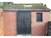 Garage & Storage Sheds to rent