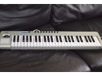 NOVATION USB 49 LE USB LAPTOP KEYBOARD WITH USB CABLE