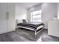 Beautiful feature double bedroom in flat share moments from Southwark tube! Reserve your room NOW