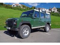 Land Rover Defender 110 td5 9 seater with low mileage & FSH