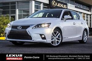 2017 Lexus CT 200h TOURING / HYBRID Certified vehicle with warra