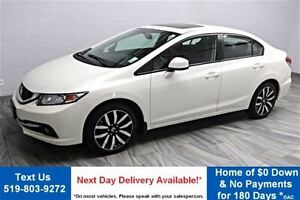 2013 Honda Civic Touring! LEATHER! NAVIGATION! SUNROOF! BLUETOOT