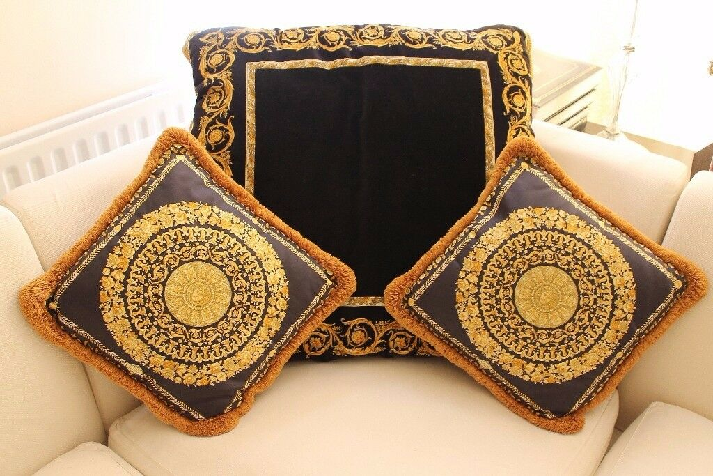 Gianni Versace classic cushions - Very Good Condition - from £210
