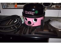 BOXED Hetty 200 'BY NUMATIC' with hepi-filter. Used once - brilliant condition.