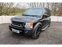 """06 LANDROVER DISCOVERY 3 2.7 TDV6 SE AUTO TIP 7 SEATER 4WD ++FULL LEATHER & 22"""" ALLOYS ++"""