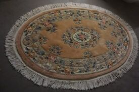 2 THICK PILE RUGS HARDLEY USED EXCELLENT CONDITION 1 LARGE 1 A LITTLE SMALLER CLICK ON AD FOR SIZES