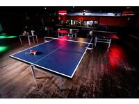 FOR SALE: 6 Full Sized Ping Pong Tables