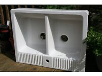Belfast Double Bowl sink - Model DOMSJO