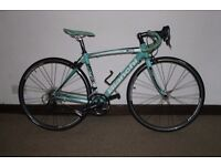 Bianchi road bike , IMMACULATE condition Size 50cm, Campagnolo gears and brakes.