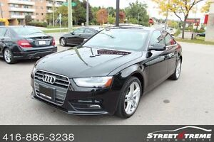 2013 Audi A4 2.0T PREMIUM PKG, NAVI, ACCIDENT FREE, SUNROOF