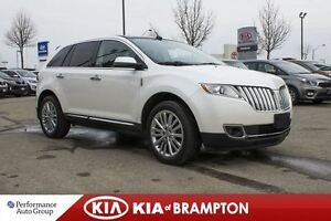 2012 Lincoln MKX LIMITED PKG|NAVI|LOW KMS|LEATHER|SUNROOF|BACKUP