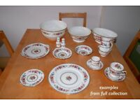 Dinnerware & Crockery ( pattern/make: MALVERN Royal Grafton)