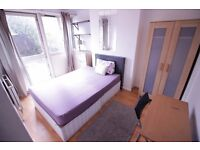 nice double room with garden .whitechapel. stepney green .all bills included . available asap .