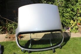 Hard top for Mazda MX-5. With heated rear screen, stand and cover.£350. Buyer collects.