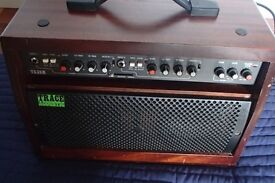 Original Trace Elliot made in England TA35R Acoustic Guitar Amplifier. Rare early wooden case model