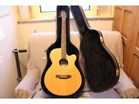 Guitar and Case Electric / Acoustic