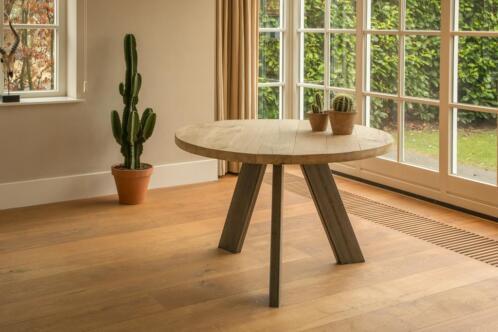 ≥ ronde eiken tafels maatwerk ronde tafels met laagste prijs