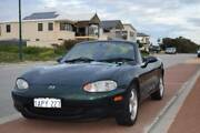 2000 Mazda MX-5, Green, 5 Speed Manual Convertible Quinns Rocks Wanneroo Area Preview
