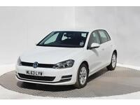 Volkswagen Golf SE TSI BLUEMOTION TECHNOLOGY (white) 2013-10-09