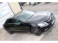 2010 MERCEDES E CLASS E200 CDI BLUEEFF SPORT AUTO 136 BHP* NIGHT EDITION SPEC* (FINANCE& WARRANTY)