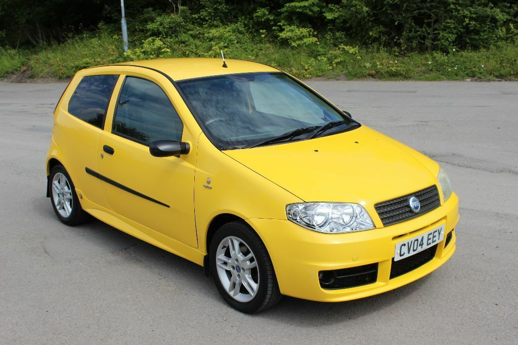 Fiat Punto 1 2 Active Sport 2004 Speed Yellow Full Abarth Kit New