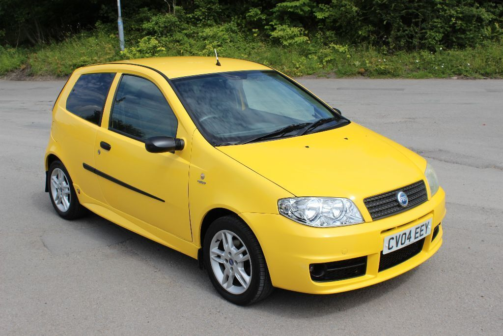 fiat punto 1 2 active sport 2004 speed yellow full abarth kit new mot pas r alarm clarion cd v. Black Bedroom Furniture Sets. Home Design Ideas