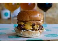 Chef \\ £9 ph \\ 40 hrs a week - BEER+BURGER in Willesden Green.