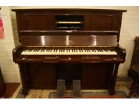 Steck upright pianola piano - Tuned and UK delivery available