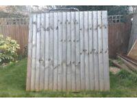 Fence panel. 6' x 6'