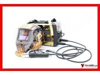 +++ INVERTER WELDER MAR-POL M79363 230 V MMA ARC STICK + AUTO DARKENING WELDING HELMET FOR FREE! +++